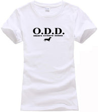 "Load image into Gallery viewer, ""Obsessive Dachshund Disorder"" Graphic Tee"