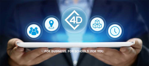 4D Visitor for schools and businesses