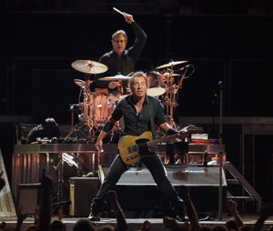 Bruce Springsteen playing in concert by Craig O'Neal