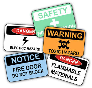 RoSPA Safety Signs