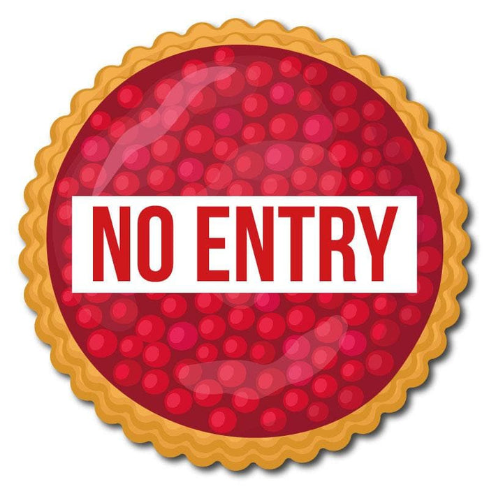 Cherry Pie Indoor Hospitality Floor Signage, Various Messages Available (Pack of 5)