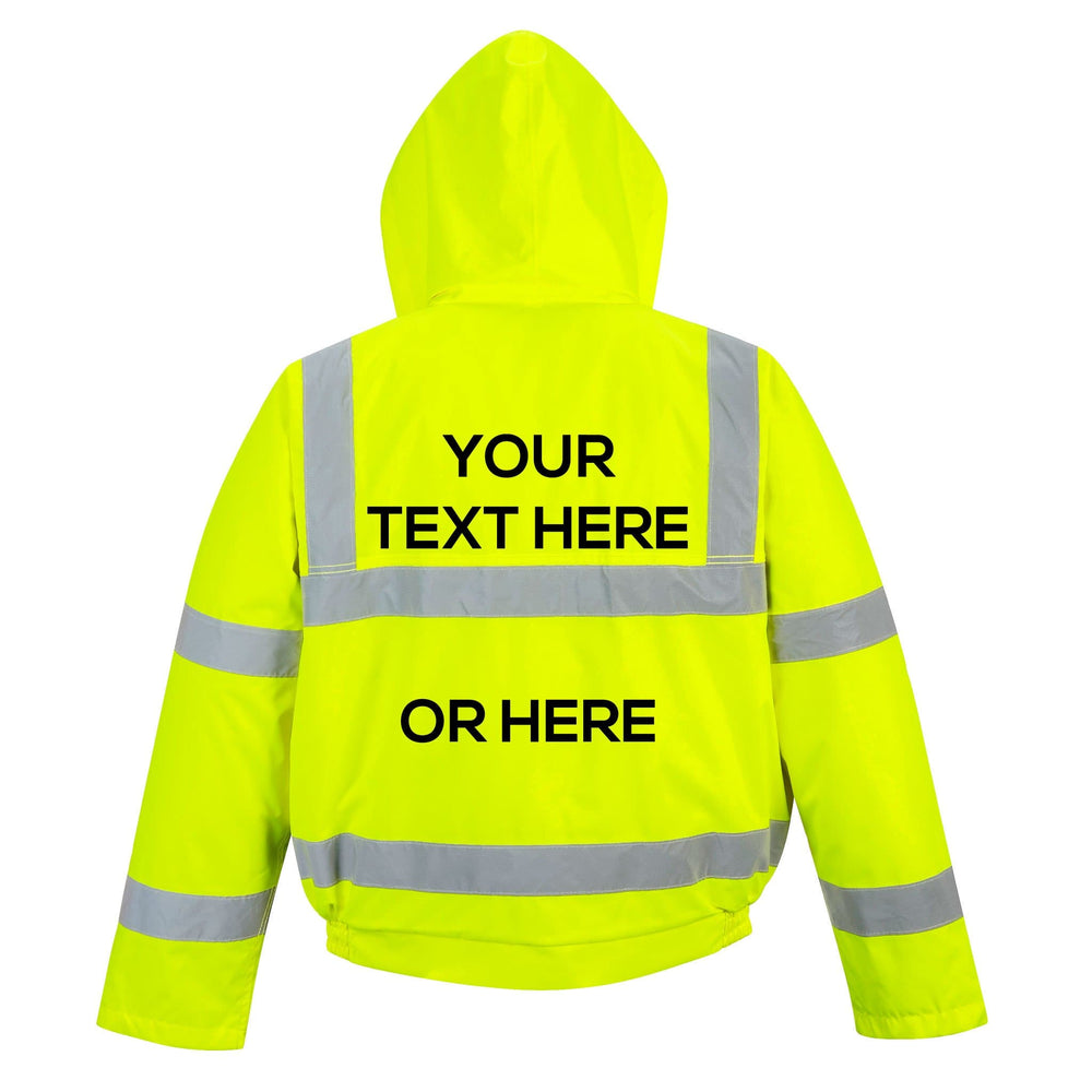 Hi-Vis Bomber Jacket - Create Your Own