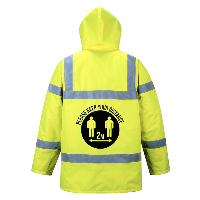 Keep Your Distance, Hi-Vis Traffic Jacket