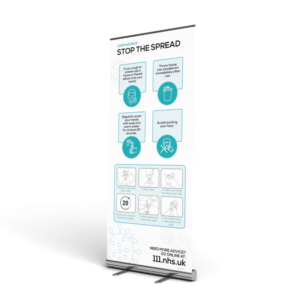 Hygiene at Work Pop Up Banner
