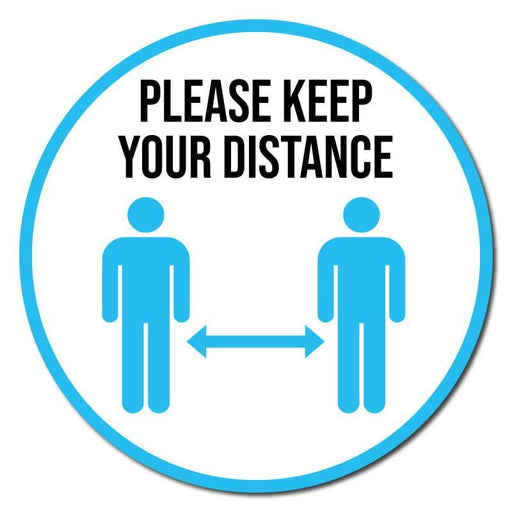 Please Keep Your Distance, Carpet Stickers