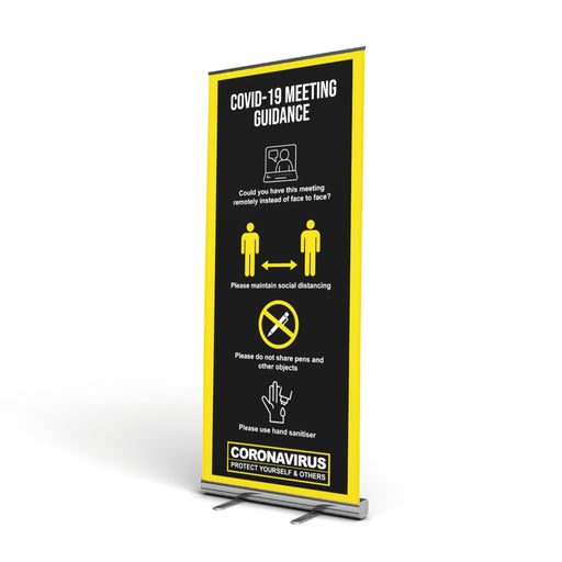 Meeting Pop Up Banner (Social Distancing)
