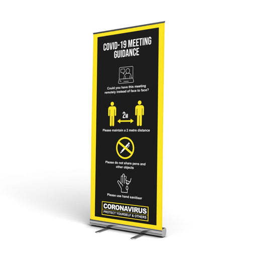 Meeting Pop Up Banner (2 Metre Social Distancing)