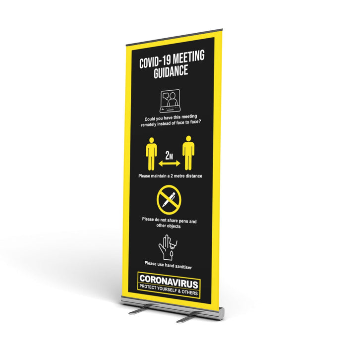 Meeting Pop Up Banner