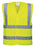 Front View Of Social Distancing Hi Viz Vest