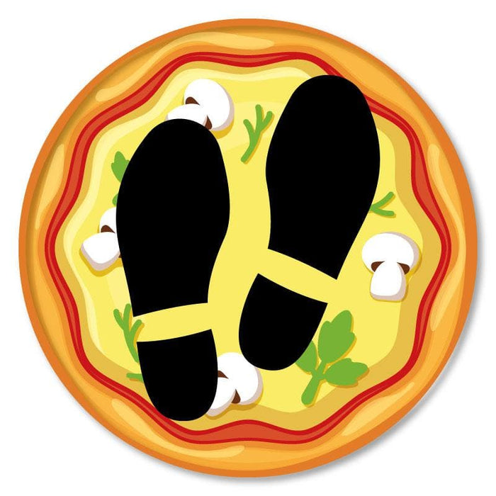 Pizza, Hospitality Carpet Sticker - Various Messages Available