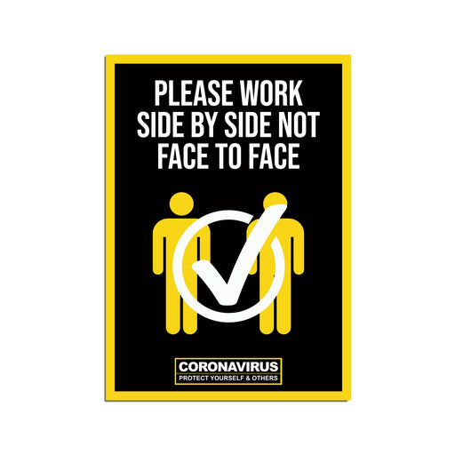 Work Side By Side Poster (Pack of 5)