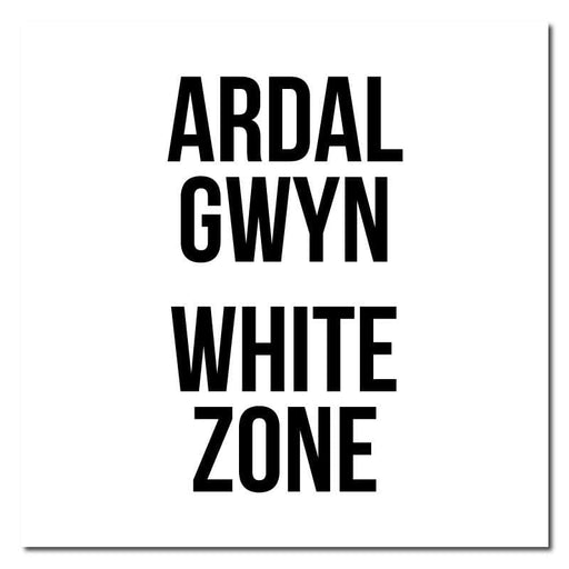 Zone Colours, Bilingual Welsh Outdoor/Heavy Duty Usage Floor Sticker, 60cm X 60cm