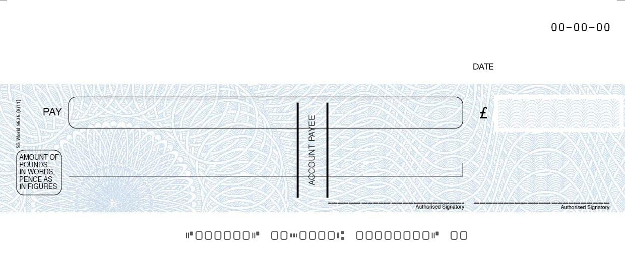 Blue Fugitive SIMS Computer Cheque