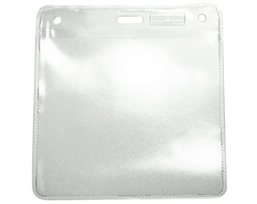 Economy Clear Top ID Card Landscape Wallet