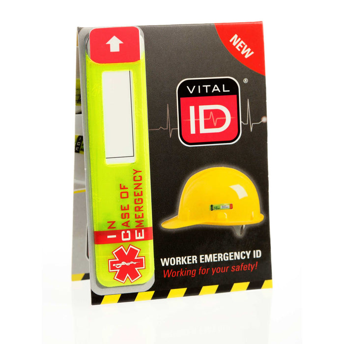 Worker Emergency ID  Tag with Window