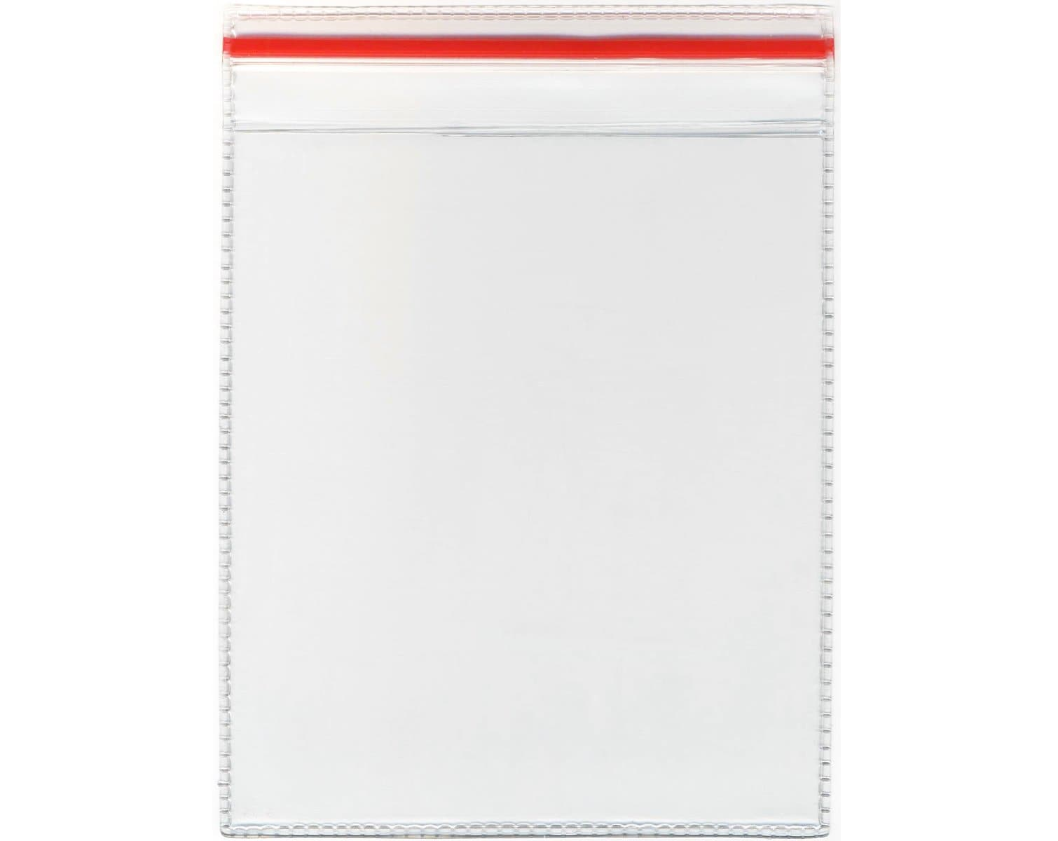 Plastic wallet to display a piece of equipment's inspection status.