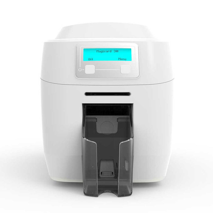 Magicard 300 Printer Facing