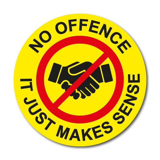 No Offence Stickers (Packs of 150)