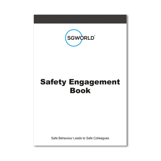 Safety Engagement pocketbook closed