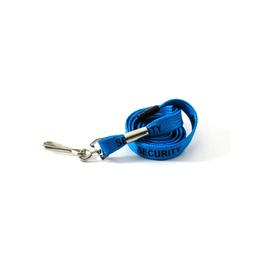 Blue Security Lanyard