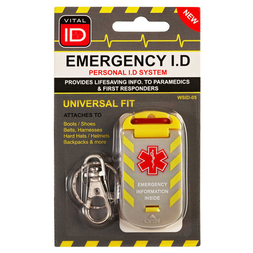 Worker Emergency ID Tag