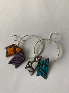 Tribal Notch Earrings