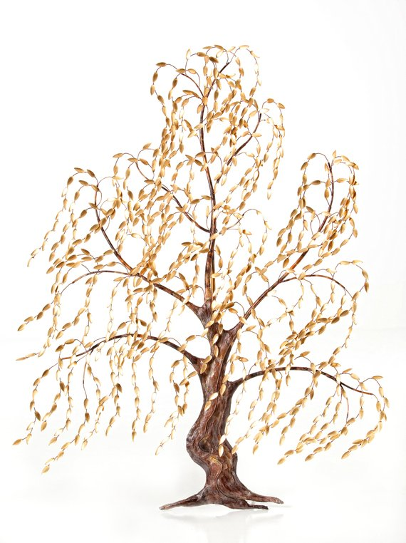 Mega Willow Tree- Verdi (green) Wall Art- 6 ft