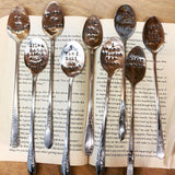 Drink Stirrers/ Bookmarks