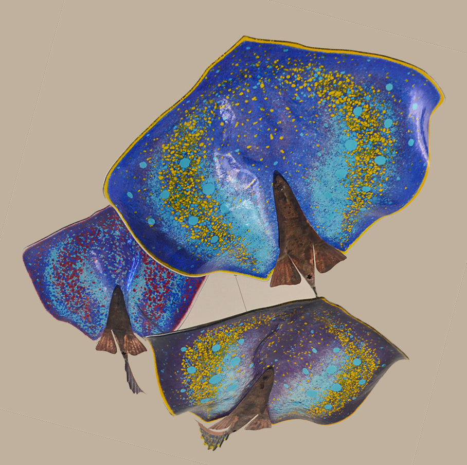 Glass Stingray- Large Hanging