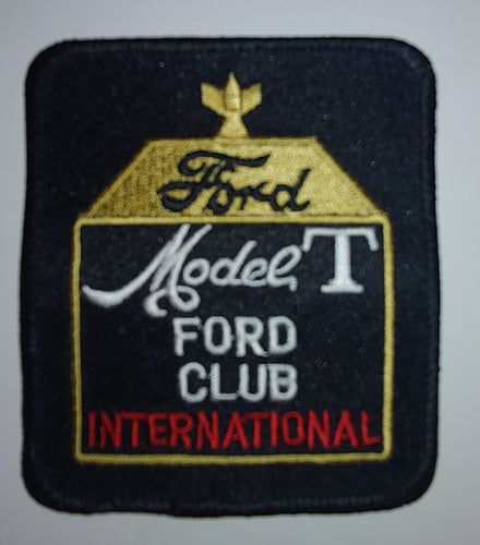 Model T Ford Club International Patch