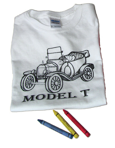 Kids Coloring Tee Shirt