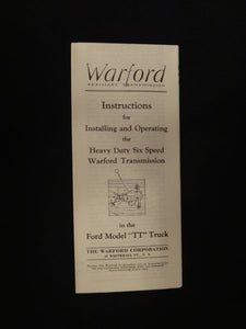 Warford Brochure