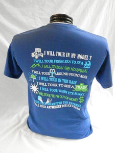"""I will tour"" T-Shirts"