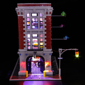 LED LIGHTS FOR GHOSTBUSTERS Firehouse Headquarter