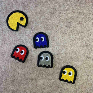 PAC-MAN & GHOSTS Iron Patch