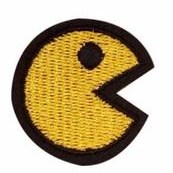 PAC-MAN Iron Patch