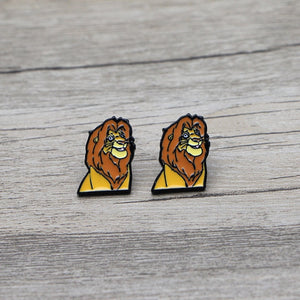Mufasa Earrings