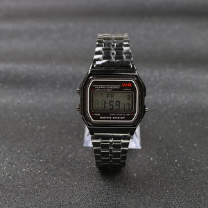 Deal Of The Day // Black Vintage Watch