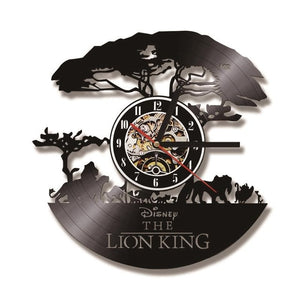 The Lion King Vinyl Wall Clock