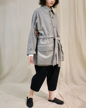 Load image into Gallery viewer, WOOL JACKET W/ BELT