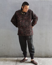 Load image into Gallery viewer, WOOL SILK PERSIAN JACQUARD WEAVE PULLOVER( Hand Woven)