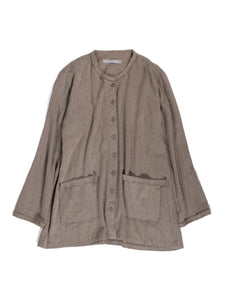 YUTA MATSUOKA,[EXCLUSIVE] RING COLLAR KNIT CARDIGAN,medium rare online