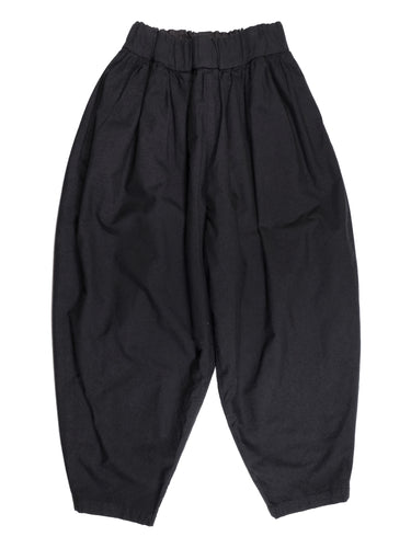 COTTON / SILK DRAWSTRING PANTS