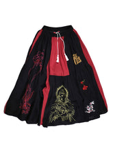 Load image into Gallery viewer, LEH-672 EMBROIDERY POLYTHEISM SKIRT