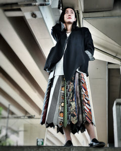 PATCH TIE SKIRT