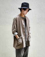 Load image into Gallery viewer, [EXCLUSIVE] RING COLLAR KNIT CARDIGAN (BEIGE)