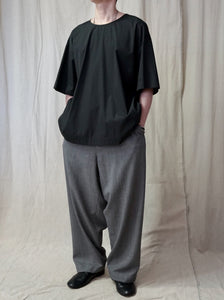 MY BEAUTIFUL LANDLET,WM02-PT181083 LONG PANT WITH VELVET SIDE SEAM,medium rare online