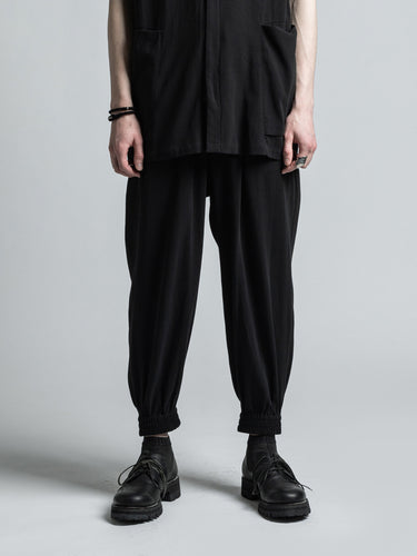 STRONG TWIST DOUBLE WOVEN CUFF PANTS