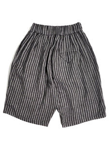 NO CONTROL AIR,SILK & LINEN DOBBY STRIPE SHORTS,medium rare online