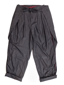 LEH,WIDE WRAPPING SLACKS,medium rare online